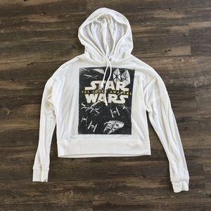 Star Wars Cropped Hoodie